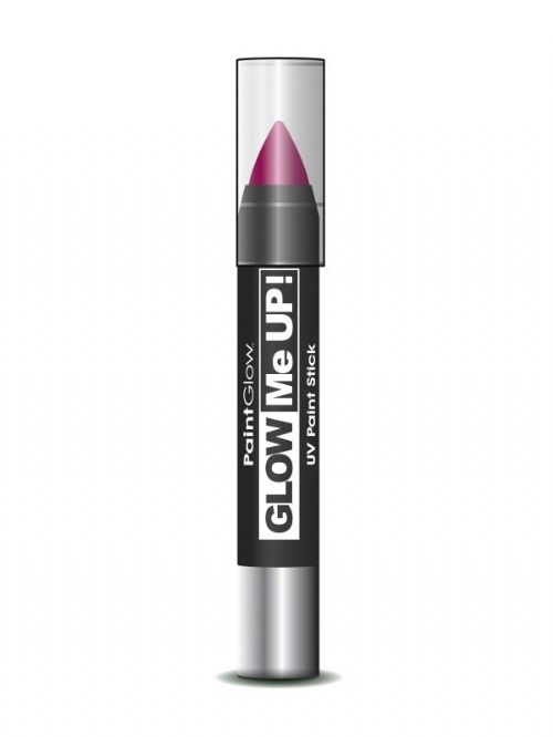 Glow Me Up - UV Paint Stick - Pink